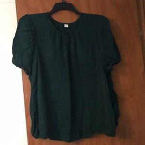 Dark Green Dress top